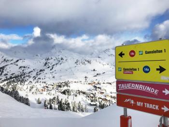 Die Skirunden sind überall im Skigebiet gut ausgeschildert und nicht zu verfehlen.