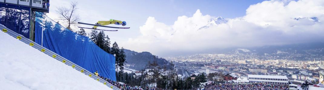 Die Bergisel Schanze in Innsbruck wäre eine der Wettkampfstätten für Olympia 2026 gewesen.