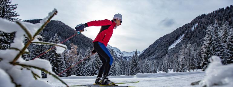 Mehr als 300 Loipenkilometer warten in Osttirol auf passionierte Langläufer.