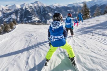 Kleine Pistenflöhe sind im Skigebiet Dorfgastein bestens aufgehoben.