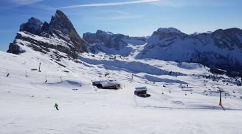 Nach zwei schneearmen Wintern hat es in der Saison 2017/18 im Grödnertal extrem viel geschneit.