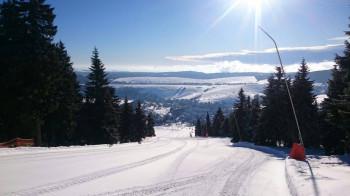 Eine gute Schneegrundlage, kalte Temperaturen und gleichzeitig viel Sonne waren im Frühjahr ein perfekter Mix für Skifahrer am Fichtelberg.
