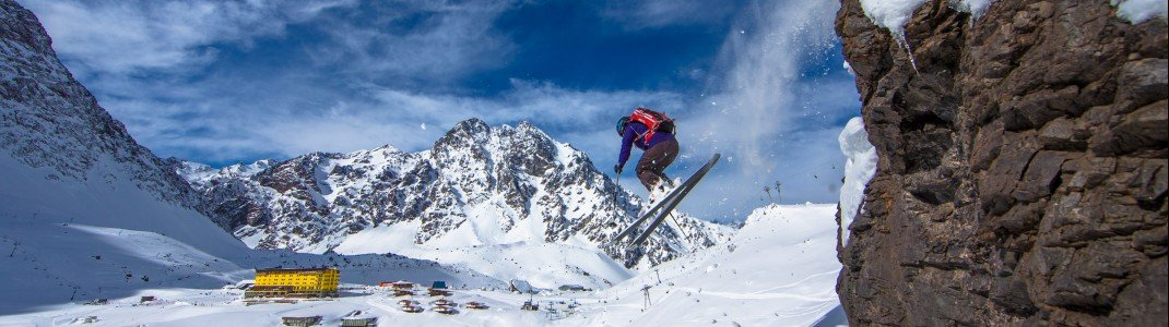 Portillo ist das älteste Skigebiet in Chile
