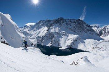 Portillo bietet eine beeindruckende Kulisse zum Skifahren