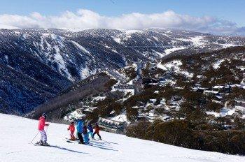 Falls Creek ist das größte Skigebiet im Bundesstaat Victoria