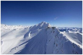 """Das Skigebiet Obergurgl Hochgurgl wird auch """"Diamant der Alpen"""" genannt."""