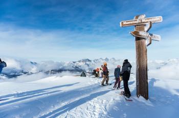 Traumpisten und grandiose Aussichten am Mammoth Mountain