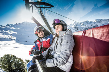 Vom Führungsteam erhältst du interessante Infos zum Skigebiet.