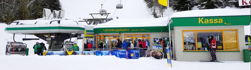 26 Jahre lang brachte der alte 4er-Sessel die Skifahrer zum Lärchkogel.