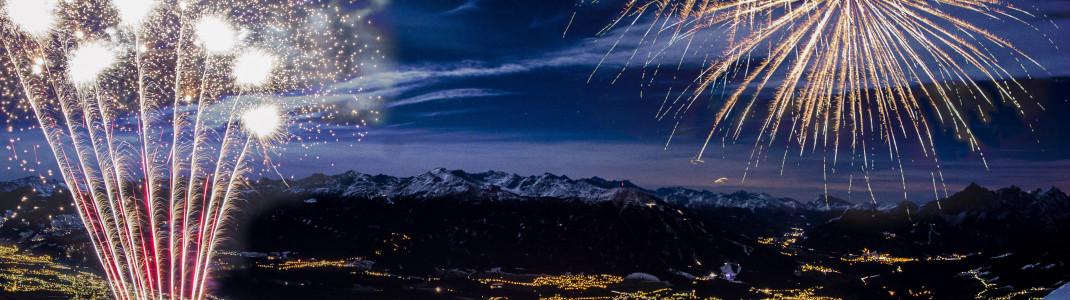 In Innsbruck feierst du auf 1.900 m bei der Seegrube ins neue Jahr.
