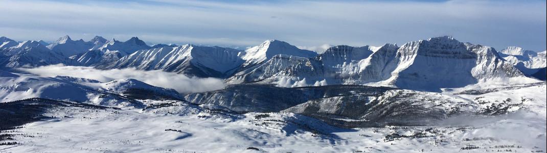 Die traumhafte Landschaft in Kanadas Westen brachte uns immer wieder aufs Neue zum Staunen.