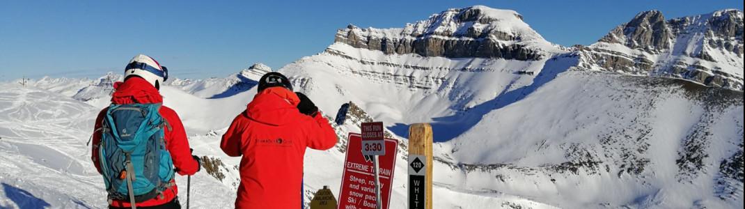 Die Black Bowls in den kanadischen Skigebieten sind nur für Könner.