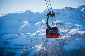 Whistler Blackcomb zählt zu den besten Skigebieten in Kanada.