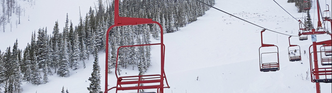 The lifts at Castle Mountain cannot be compared to European Standards.