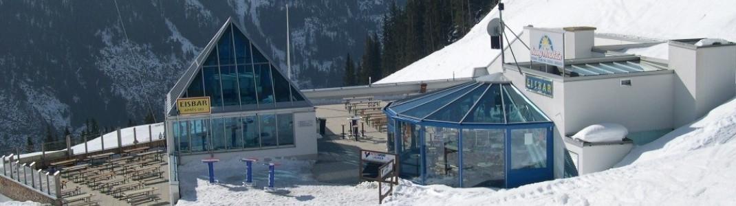 Sunny Mountain Restaurant with the ice bar!