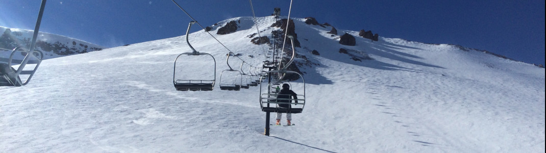 Experts only: The slopes at Chair 23.