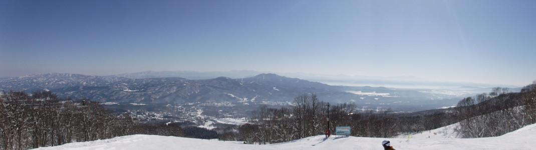View from Myoko Kogen