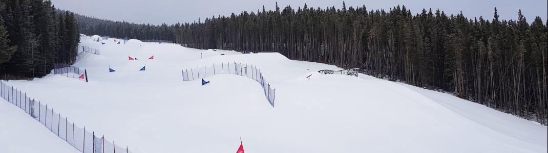 Najibska Rail Park offers a change from regular skiing.