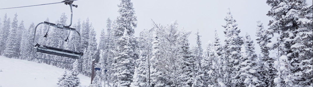 Fresh snow in Nakiska