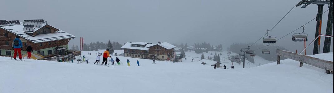 In Flachau, numerous mountain restaurants await you along the pistes.