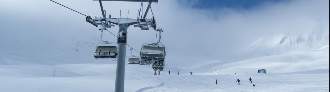 Hainbachjoch chair lift!