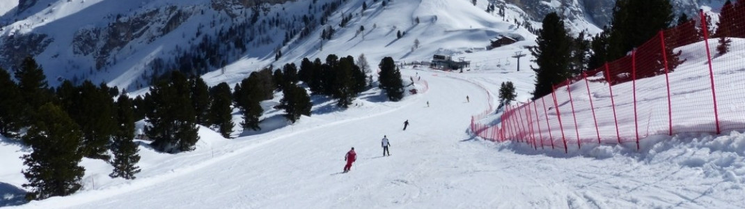 Slope to the Cir chair lift