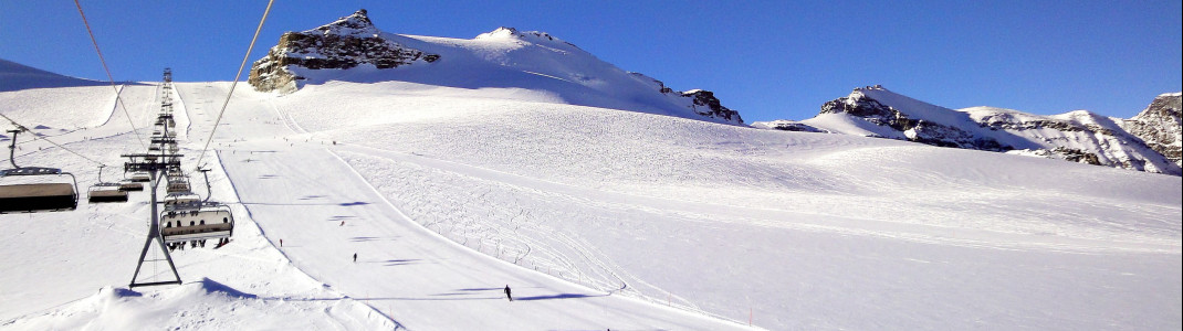 Perfect slopes at Theodul Glacier