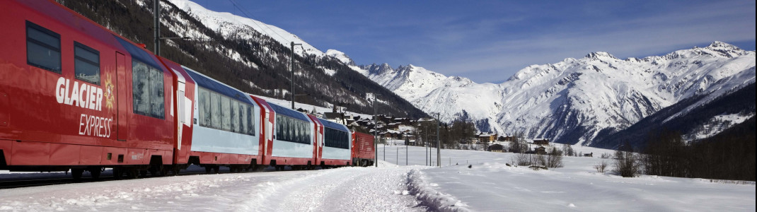 You have to leave your car behind for the last part of your trip: Taking the Glacier Express from Täsch to Zermatt