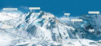 Die neuen Verbindungsbahnen am Arlberg.