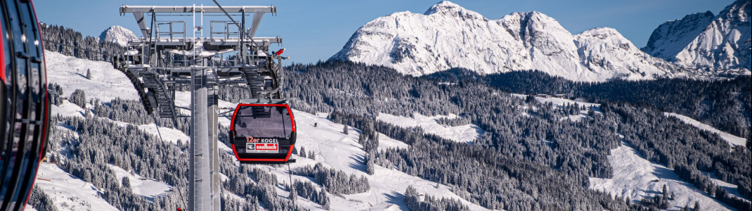The new gondola offers space for 10 people.