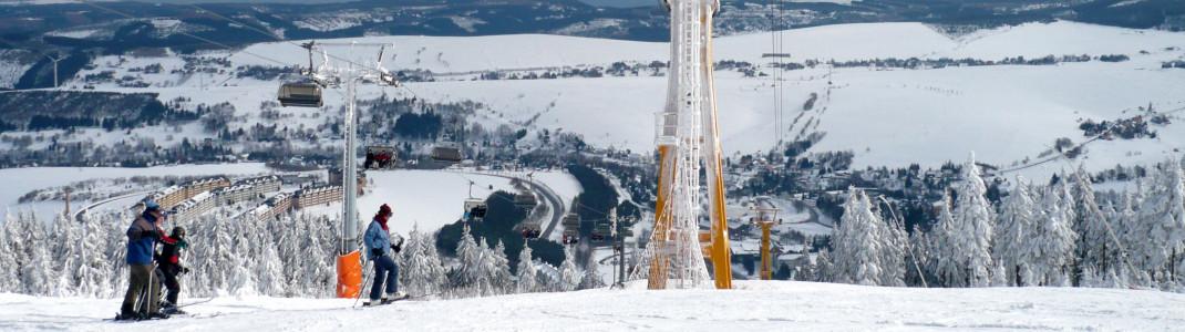 Die Skilifte in Sachsen werden in diesem Winter nicht mehr öffnen.