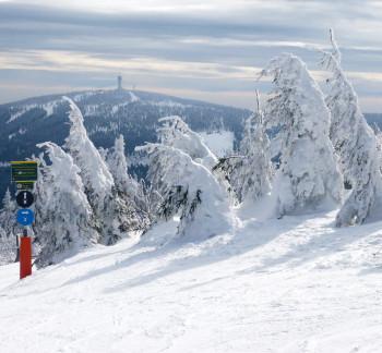 Trotz guter Schneebedingungen bleiben die Skigebiete in Sachsen geschlossen.
