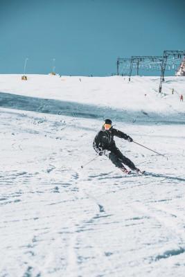 Der erste Skitag 2018/2019 am Kitzsteinhorn - Aufnahme vom 12.10.2018