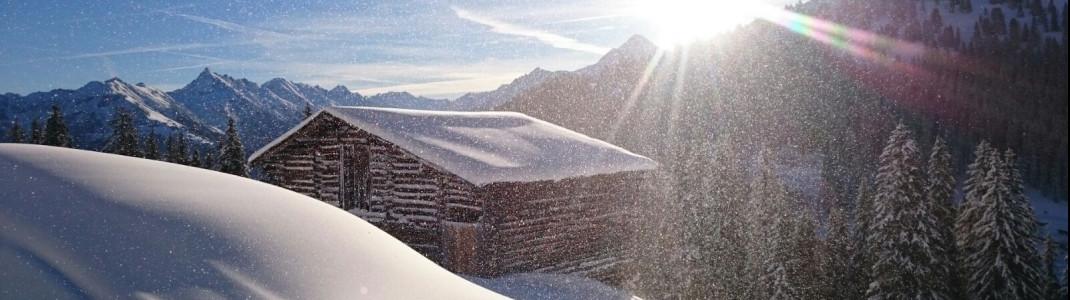 Schöner geht's kaum: In einen Wintertraum hat sich die Berglandschaft rund um Mayrhofen verwandelt.