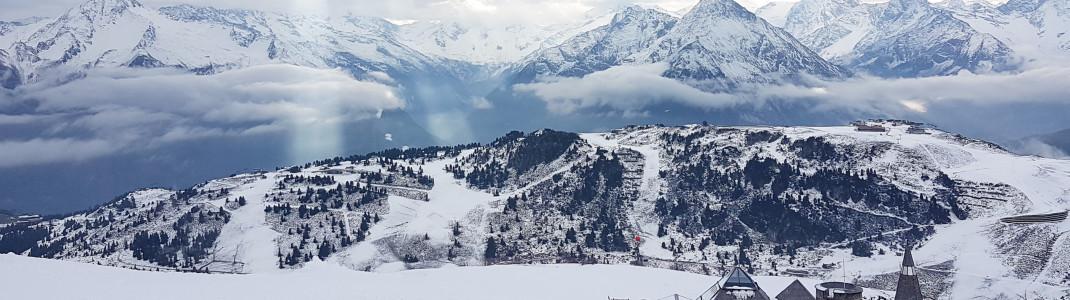 Über Schnee-Nachschub muss sich das Skigebiet Mayrhofen keine Sorgen machen. Frostig und schneereich werden die ersten beiden Dezemberwochen.