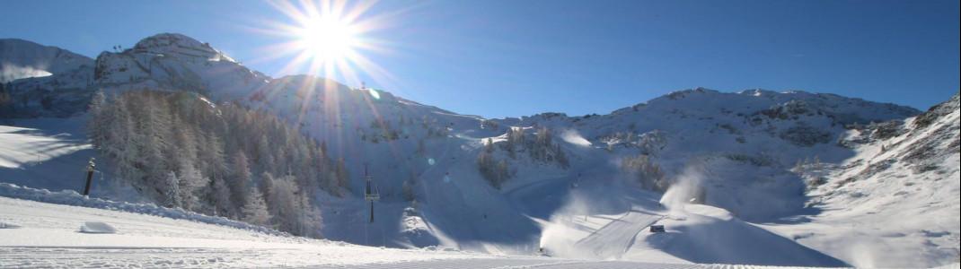 Im Skiparadies Zauchensee startet die Saison am 30. November.