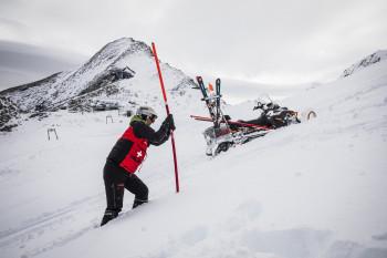 In Salzburgs einzigem Gletscherskigebiet laufen die Vorbereitungen bereits auf Hochtouren.