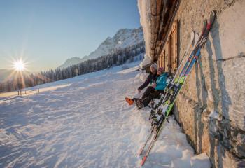 Auch auf der Skihütte gelten die allgemeinen Regelungen für Gastronomiebetriebe.