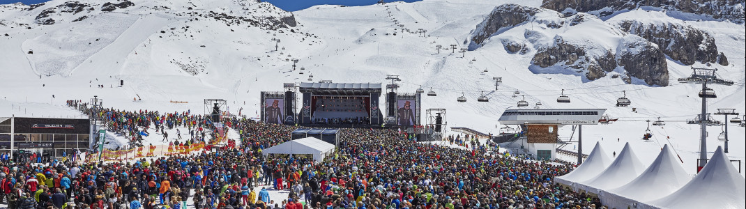 In der Ski-Arena Samnaun/Ischgl warten im April tolle Events.