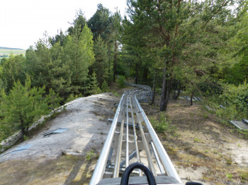 The Monte Coaster at Monte Kaolino is a spectacular summer toboggan run.