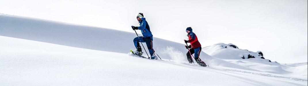 Schneeschuhwandern wird immer beliebter!