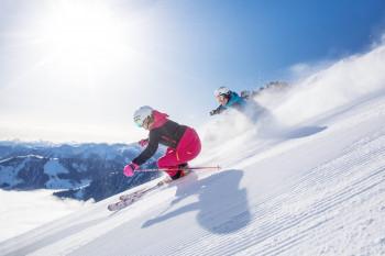 Der Skicircus ist eines der größten Skigebiete in Österreich.