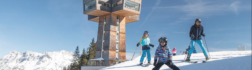 Die Buchsteinwand ist der Aussichtsberg im PillerseeTal.