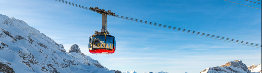 The ski areas Engelberg-Titlis, Melchsee-Frutt and Meiringen-Hasliberg are to be connected.