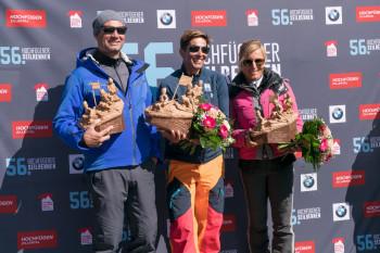 Die Legendenklasse gewann 2019 Michaela Dorfmeister vor Martina Ertl-Renz und Stephan Eberharter.
