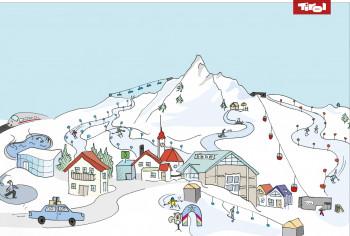 Mit der Servicekarte wird die Planung deines Familien-Skiurlaubs zum Kinderspiel.
