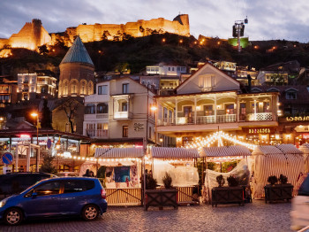 The up-and-coming metropolis of Tbilisi is definitely worth a visit!