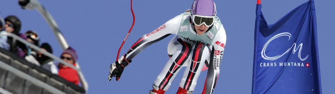 Die besten Skifahrerinnen der Welt sind auch heuer wieder in Crans-Montana zu Gast.
