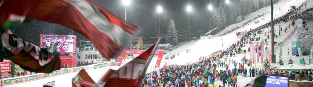 Über 10.000 Fans werden in Flachau zum Nachtslalom erwartet.