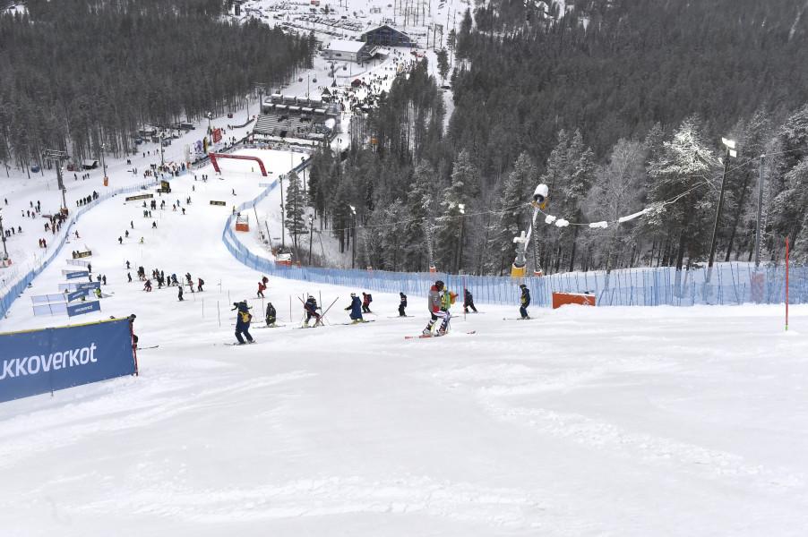 Ergebnisse Slalom Damen Heute